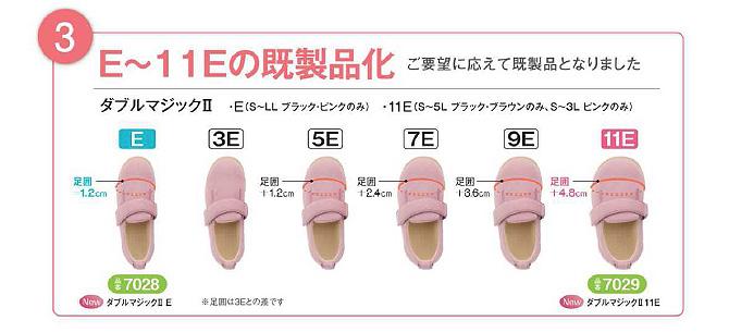 3.E〜11Eの既製品化 ご要望に応えて既製品となりました